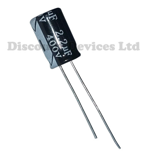 Capacitor Electrolitico 2.2 Uf X 450v (10x12mm) X10 Unidades