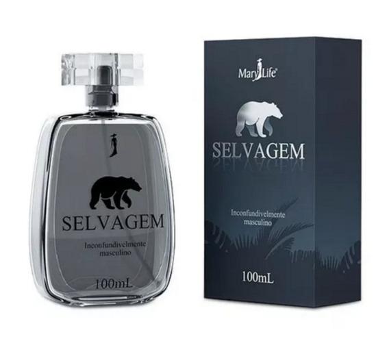 Perfume Selvagem Masculino Mary Life 100 Ml