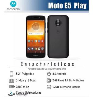 Moto E Play 5 Nuevo De Caja