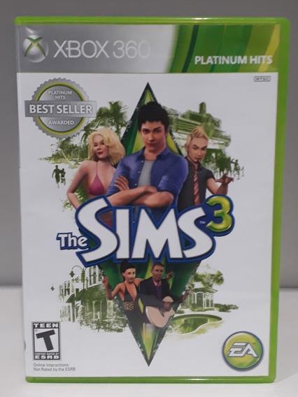 Jogo The Sims 3 Original Xbox 360