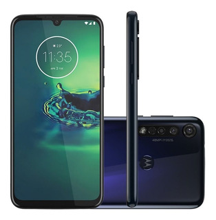 Smartphone Motorola G8 Plus 64gb Tela 6.3 Câmera Tripla 48mp