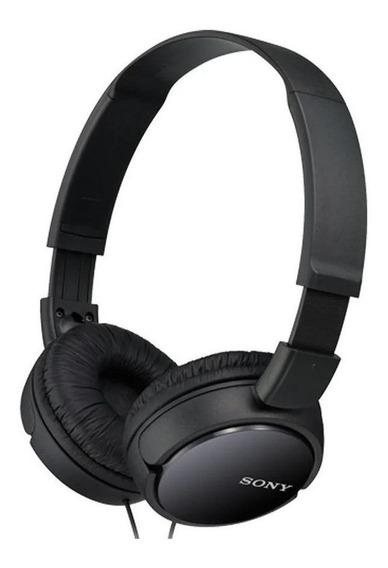 Fone de ouvido Sony ZX Series MDR-ZX110AP preto