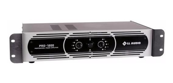 Amplificador Potência Ll Audio Pro 1200 300w Rms 4 Ohms D