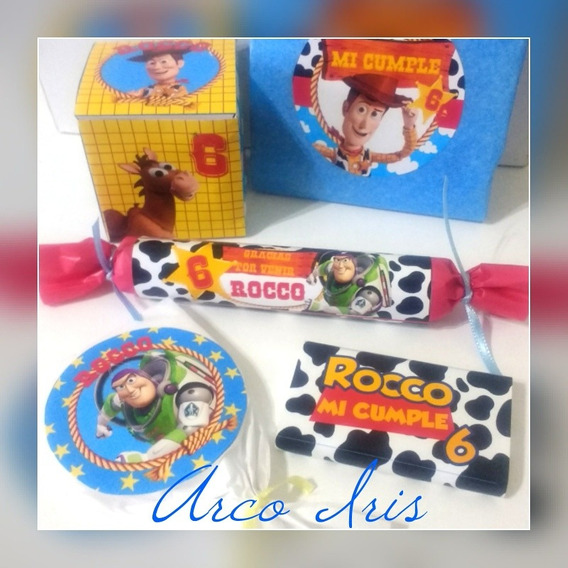 Toy Story Candy Bar Para 30 Inv