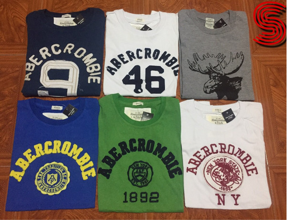 Remeras Abercrombie Hollister American Eagle Armani Exchange
