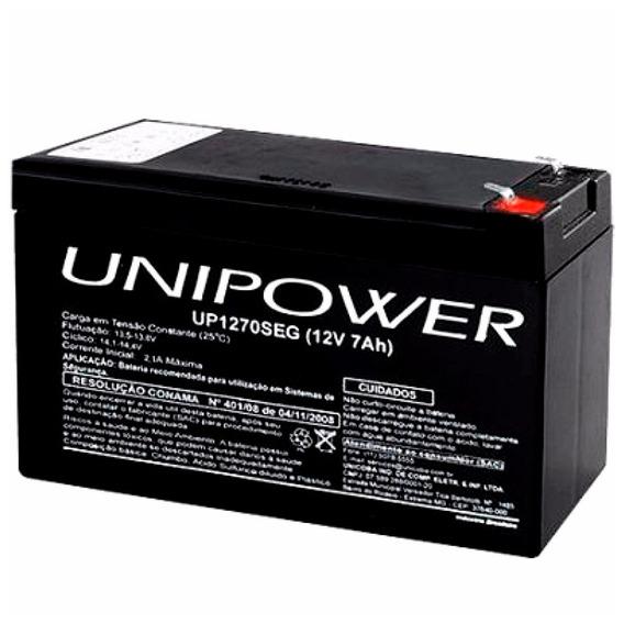 Bateria 12v 7ah P Cerca Elétrica E Alarme Nobreak