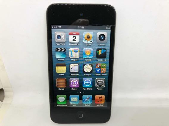 iPod Touch 4 8gb Apple Com Capa De Silicone