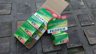 4 Rollo Fuji 35mm 24 Vencido 2010 Impecables (7280+4)