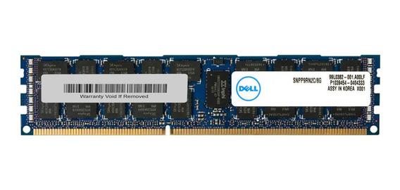 Memória RAM 8GB 1x8GB Dell SNPP9RN2C/8G