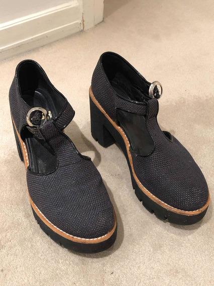 Zapatos Mishka Con Plataforma