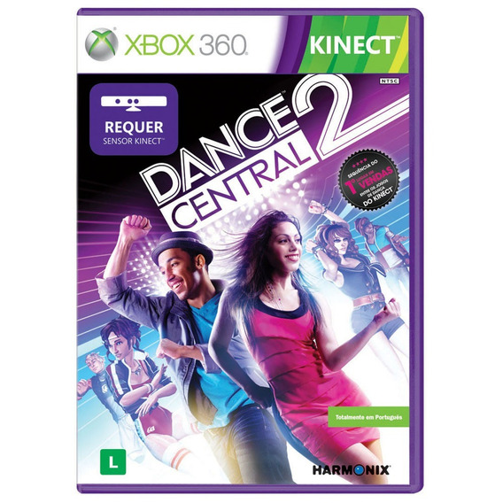 Game Xbox 360 Dance Central 2 - Usado - Otimo
