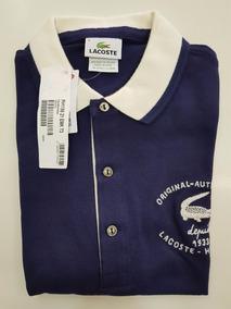 ce5dbd8eac5 Camisa Polo Lacoste 100% Original 2017 Made In Peru Promoção