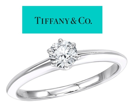 Anillo De Compromiso Tiffany & Co .33 Carats Diamante