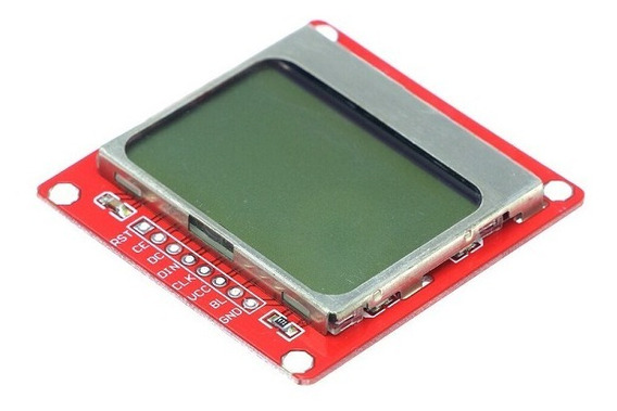 Display Lcd Nokia Black 5110