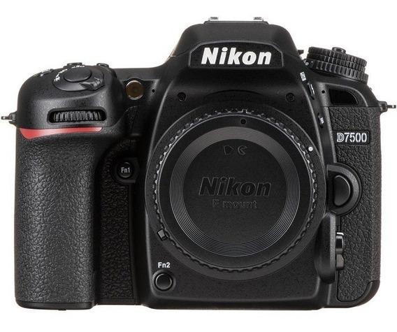 Nikon D7500 Corpo Sensor 20.9mp, Nota Fiscal