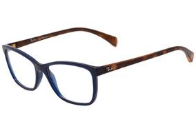 e7e781420 Ray Ban Feminino Para Rosto Redondo De Grau - Óculos Azul no Mercado ...