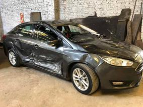 Ford Focus Iii 1.6n Mt S 2017 Chocado Muy Poco Funcionando