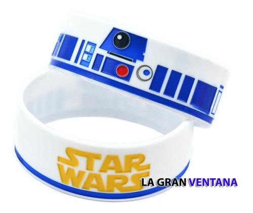 Pulsera De Silicona Star Wars R2d2