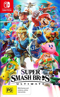 Super Smash Bros Ultimate Nintendo Switch Fisico Xstation