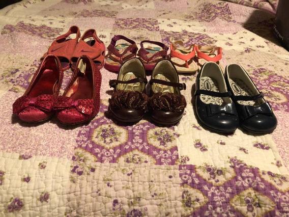 Lote De 6 Pares De Sandálias E Sapatos Sociais
