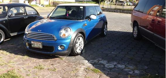 Mini Cooper 1.6 Chili 6vel Aa Tela/piel Qc Mt 2012