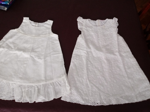 Vestidos Talle 18-24 Meses Impecables