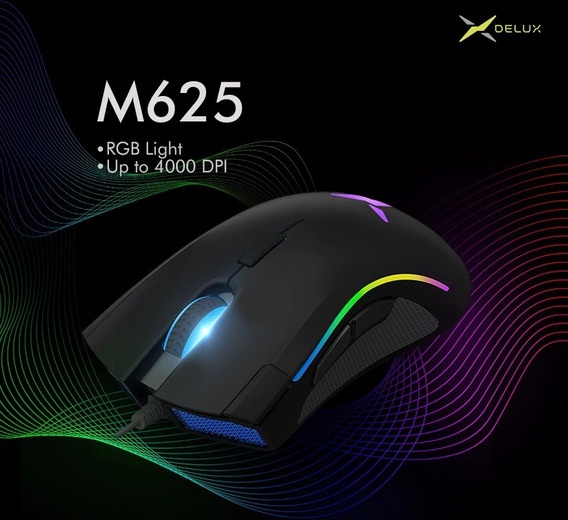 Mouse Gaming Delux M625 Rgb