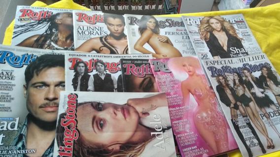 Rolling Stone Lote 10 Revistas Entre Os Anos 2008 A 2015