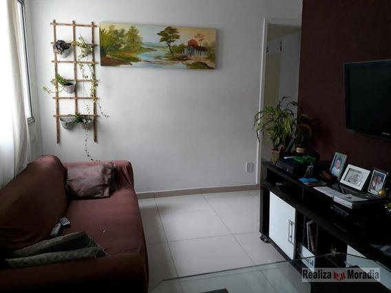 Apartamento Reformado Com 02 Dormitórios, 01 Vaga Demarcada E Fixa, Próximo Ao Shopping Da Granja Viana, Km 24 Da Raposo Tavares - Ap0514