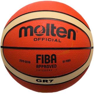 Balón Basquetbol Bgr7 X Giugiaro Hule N.7 Molten,gr7 Sgaije