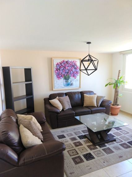 Departamento Amueblado, 100% Equipado Listo Para Habitar.