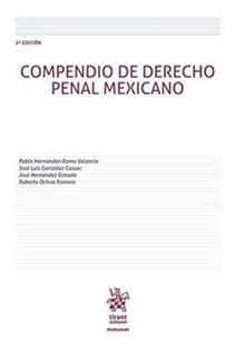 Libro Compendio De Derecho Penal Mexicano Nuevo Envío Gratis