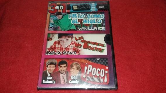 Vanilla Ice/cool As Ice-mas Frio Que El Hielo Dvd 3 En 1