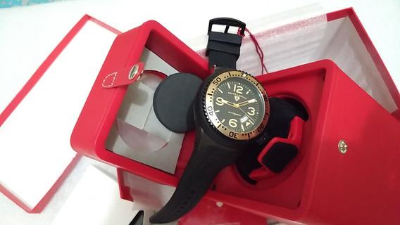 Relógio Swiss Legend 11819a, Automático, Caixa Dupla Rotação