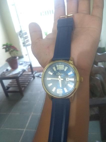 Relógio Masculino Dourado Condor