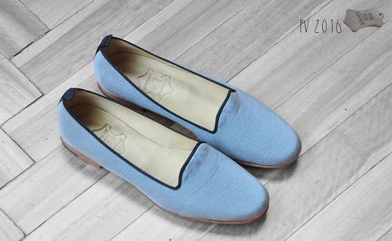 Zapato Slipper Chatitas De Mujer De Tela - Ultimos Pares