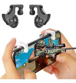 Gatillos Botones Joystick Para Pubg Mobile Fortnite (1 Par)