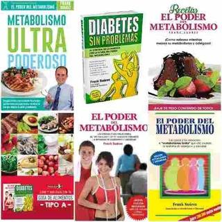 Pack 5 Libros El Poder Del Metabolismo Frank Suárez