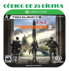 The Division 2 Xbox One Edição Ultimate Código De 25 Dígitos