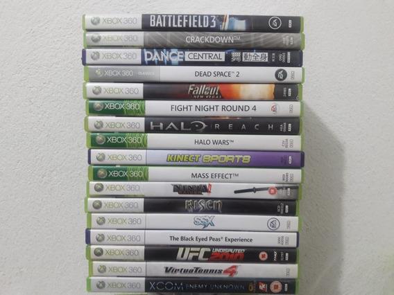 Jogos Pal Xbox 360 Originais Valor Por Unidade Ler Descrição