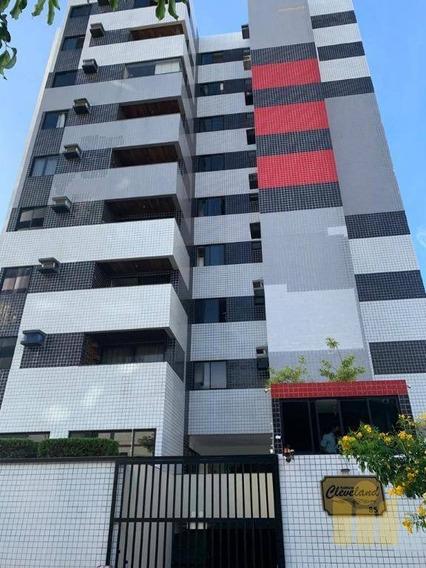 Apartamento Com 2 Dormitórios À Venda, 76 M² Por R$ 300.000,00 - Mangabeiras - Maceió/al - Ap0559