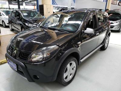 Renault Sandero Stepway 1.6 Flex Preto 2011 (completo)