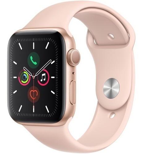 Apple Watch Series 5 44mm Gps Gold, Pink Sand 12x S/juros