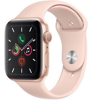 Apple Watch Series 5 44mm Gps Gold Aluminum, Pink Sand Sport