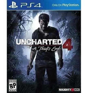 Uncharted 4: A Thiefs End Ps4 Juego Fisico