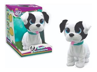 Mascota Interactiva Perro Bowie Besitos De Verdad Club Petz