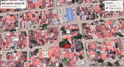 Lote Casa En Venta Zona Norte 4to Anillo Radial 27
