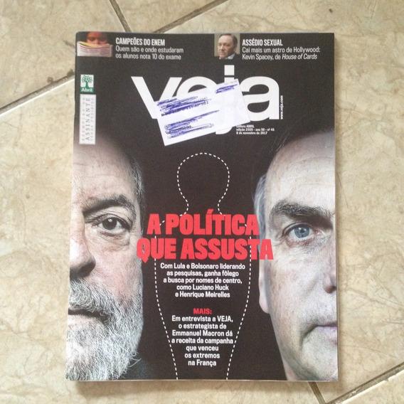 Revista Veja 2555 8/11/2017 A Política Que Assusta Bolsonaro
