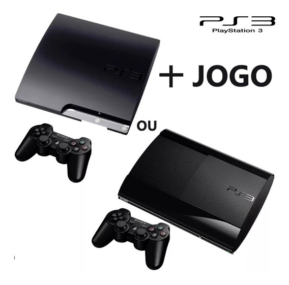 Ps3 Slim Ou Super Slim Vidogame Playstation Play 3 Semi-novo