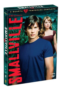 Smallville 4ª Temporada - Box Com 6 Dvds - Novo